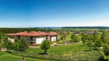 <h5>Die Gebäude mit den Appartements</h5><p>Unsere Patientenfamilien sind in modernen Häusern und Appartements  untergebracht. Von überall aus haben Sie einen herrlichen Blick auf den Schwarzwald und die Baar.                                                                                                                                                         </p>