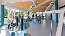 <h5>Modernes Trainingszentrum</h5><p>Nach schwerer chronischer Erkrankung wieder körperlich fit zu werden, ist ein wichtiges Rehaziel. Unser modernes Trainingszentrum bietet dazu alle Möglichkeiten.                                                                                                                                                         </p>