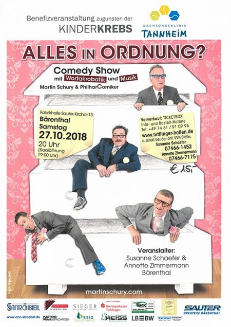 """Comedy Show """"Alles in Ordnung?"""""""