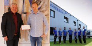 "ISB – Oberflächentechnik GmbH ""Corona zum Trotz"", 750,00 Euro"