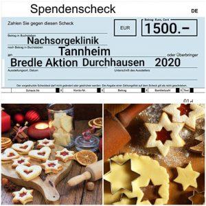 """Bredleback-Aktion"", 1.500,00 €"