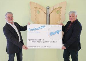 Freehander Vertriebs GmbH, 750,00 €