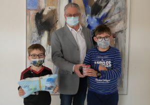 """Felix & Max Merget, """"Patientenspende"""", 200,00 €"""