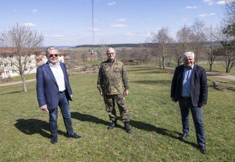Besuch Generalinspekteur Eberhard Zorn