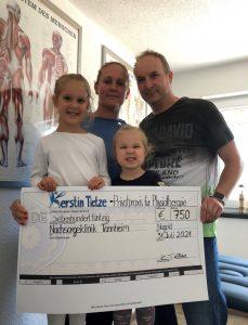 Kerstin Tietze - Privatpraxis für Physiotherapie, 750,00 €